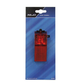 Diverse Rear light with reflector Bike Light brown/red